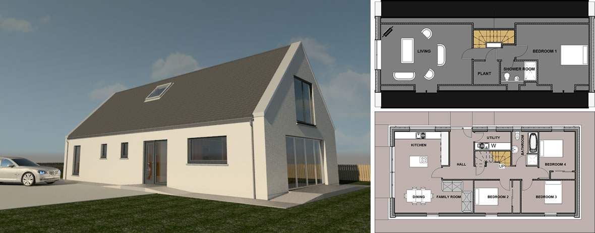 New Build Orkney Property